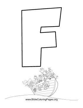 abc bible coloring pages - photo#17