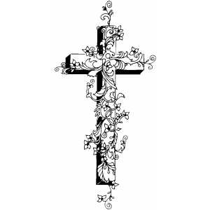 Cross2 Coloring Page
