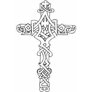 Cross Christian Adult Coloring Pages Coloring Pages