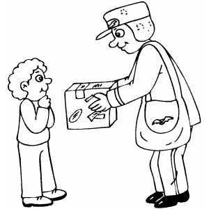 postman activities online for children