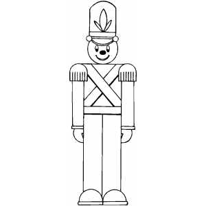 coloring pages of toy soldier - photo#5