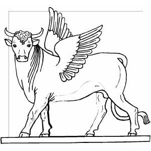 golden calf coloring pages - photo#10
