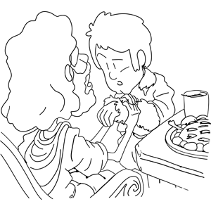 Jesus Heals Boy Coloring Page Coloring Pages Jesus As A Boy Coloring Page