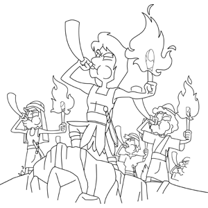 gideon bible coloring pages pics photos bible coloring pages then gideon returned to - Gideon Bible Story Coloring Pages