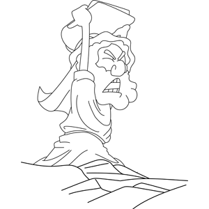 Stone Tablet Coloring Pages Coloring Pages