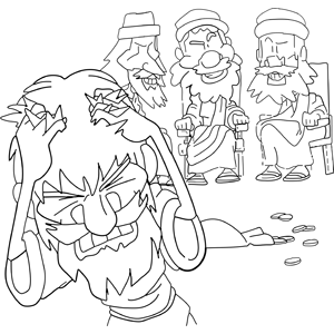coloring pages silver coins - photo#22